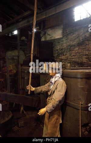 L'Bremecker hammer à Lüdenscheid en Allemagne. Banque D'Images