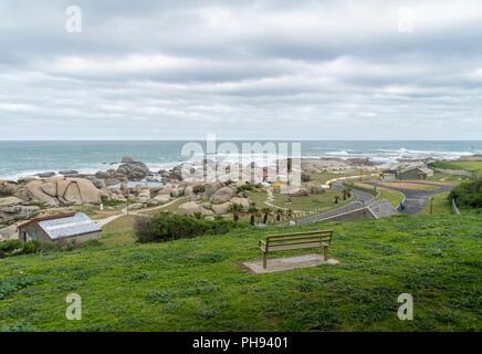 Clifton, une banlieue aisée de Cape Town, Afrique du Sud Banque D'Images