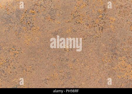 Plaque de métal rouillé en arrière-plan Banque D'Images