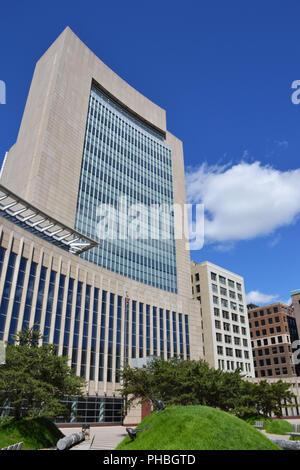 Édifice du palais de Minneapolis, Minnesota, États-Unis Banque D'Images