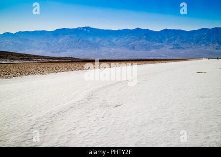 Télévision Mesquite sand dunes in Death Valley National Park