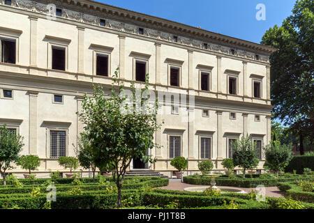 ROME, ITALIE - Le 23 juin 2017: Construction de villa Farnesina dans Trastavete district dans la ville de Rome, Italie Banque D'Images
