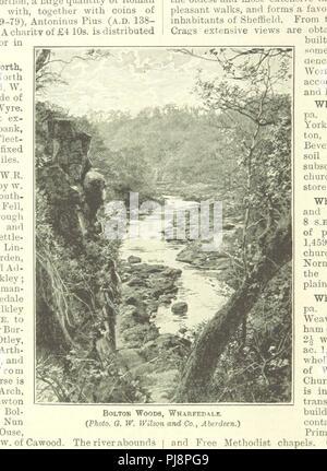Libre à partir de la page 396 de '[Cassell's Gazetteer de Grande-Bretagne et l'Irlande ... Avec de nombreuses illustrations et cartes 60.]' . Banque D'Images