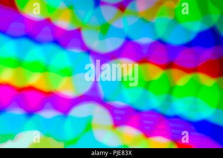 - Flou artistique flou flou abstrait flou d'arrière-plan coloré aux tons lumineux. Les cercles de couleur. Multi floue de couleur. Banque D'Images