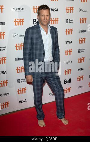Thomas Jane assiste à la première de 'l' au cours de la 43e Festival International du Film de Toronto, tiff, à Ryerson Theatre de Toronto, Canada, le 06 septembre 2018. Dans le monde d'utilisation | Banque D'Images