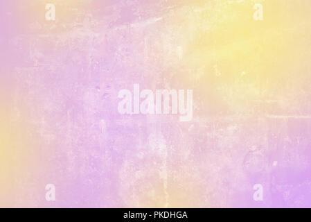 Abstract background lisse avec des couleurs blanc jaune violet bannière graphique numérique. Effet de l'usure Banque D'Images