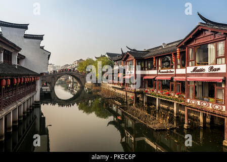 Qibao Old Town, Minhang District, Shanghai, Chine Banque D'Images
