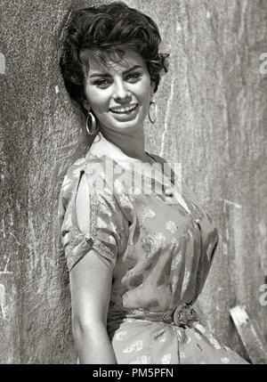 Sophia Loren,''Légende de l'perdu', 1957. Référence # 30928 Fichier_789THA Banque D'Images