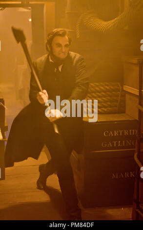 Encore de Benjamin Walker dans Abraham Lincoln : Vampire Hunter Banque D'Images