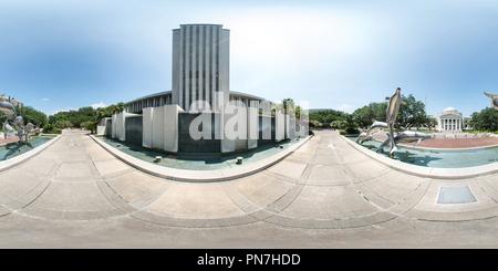 Cour suprême de Floride et capitale de l'État de Floride, Tallahassee bâtiment Banque D'Images