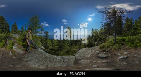 Le Parc National de Koli, Ukko-Koli 2 Banque D'Images