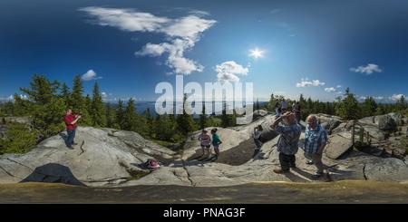 Le Parc National de Koli, Ukko-Koli Banque D'Images