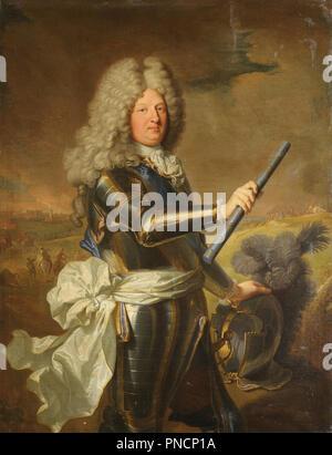 Louis de France, Dauphin (1661-1711), dit le Grand Dauphin / Louis de France, Dauphin (1661-1711), connu comme le Grand Dauphin. Date/Période: après un original de 1697. La peinture. Huile sur toile. Hauteur: 124 cm (48.8 in); Largeur: 109 cm (42,9 in). Auteur: Hyacinthe Rigaud. RIGAUD, HYACINTHE. Rigaud, Hyacinthe François Honoré. Banque D'Images