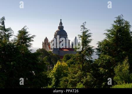 Le sanctuaire de Santa Luzia, Viana do Castelo Banque D'Images