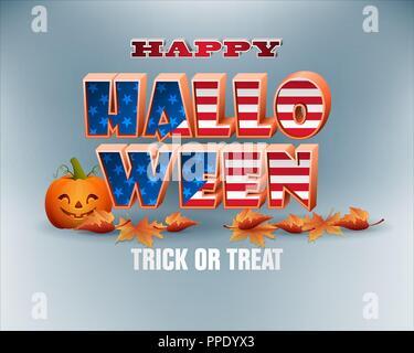 L'automne, célébration de l'Halloween en Amérique du Nord Banque D'Images