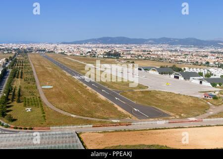 Palma de Majorque, Espagne - 11 mai 2018: photo aérienne de fils Bonet en Espagne. Dans le monde d'utilisation | Banque D'Images