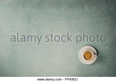 Tasse de café avec de l'espace pour le texte Banque D'Images