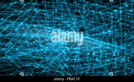 Résumé La connexion de lignes et points, les réseaux mondiaux, la mondialisation et l'internationalisation des concepts. Banque D'Images