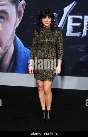 WESTWOOD, CA - 01 OCTOBRE : Moniqua Plante assiste à la première mondiale de Columbia Pictures' 'Venom' au Regency Village Theatre Le 1 octobre 2018 à Westwood, en Californie. Photo de Barry King/Alamy Live News Banque D'Images