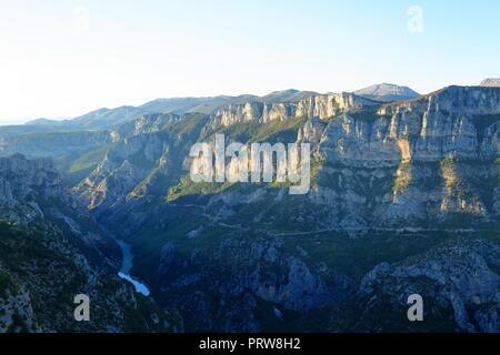 Paysage du Parc naturel régional du Verdon, Var, 83, Provence, PACA, Banque D'Images