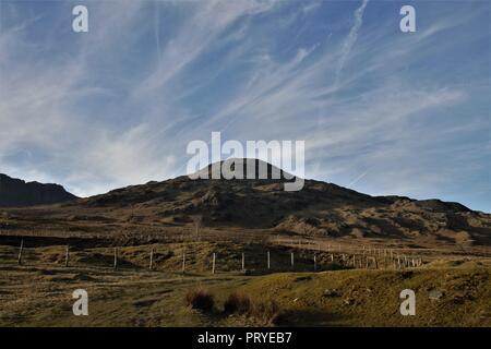 Vue vers Coniston le vieil homme de Torver près de Coniston dans le Lake District Cumbria UK. Banque D'Images