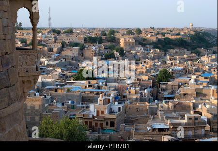 L'image de la ville de Jaisalmer fort de Jaisalmer, dans le Rajasthan, Inde