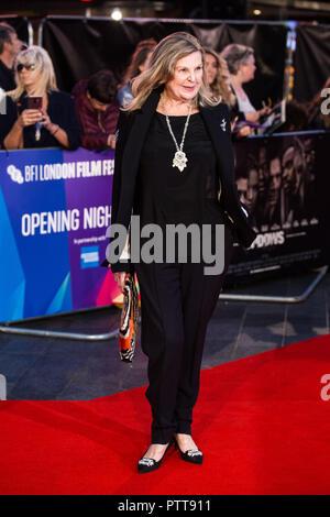 Londres, Royaume-Uni. 10 Oct 2018. Ann Mitchell à veuves Premiere et soirée d'ouverture de la 62e BFI London Film Festival 2018 le mercredi 10 octobre 2018, au Cineworld, Leicester Square, Londres, Angleterre. Crédit: Tom Rose/Alamy Live News Banque D'Images