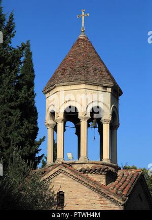 La Géorgie, Tbilissi, église, clocher,