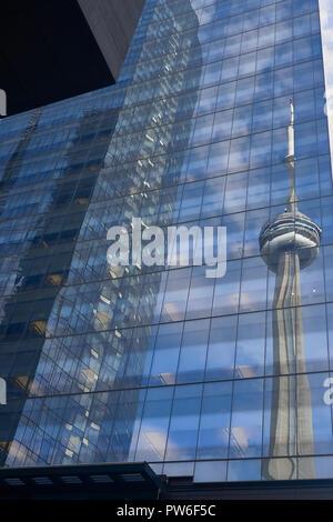 Tour du CN à Toronto . Canada