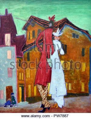 Les jeunes mariés 1908 Lyonel Feininger 1871-1956 American United States of America USA Banque D'Images