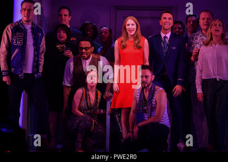 Londres, Royaume-Uni. 15 octobre 2018. Photocall : Entreprise au Gielgud Theatre, Londres, Royaume-Uni. 15 octobre 2018. Credit Photo : Alamy/Capital Live News Banque D'Images
