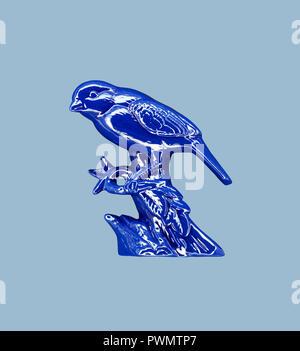 oiseau bleu Banque D'Images