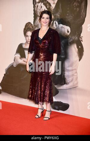 Londres, Royaume-Uni. 18 Oct, 2018. Rachel Weisz,'l'favori premiere,BFI London Film Festival, London.UK Crédit : michael melia/Alamy Live News Banque D'Images