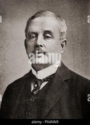 Arthur Wilson, 1836 - 1909. Bateau anglais-propriétaire qui est surtout connu pour l'hôte de son ami Albert Edward, prince de Galles, à son domicile Tranby Croft, la scène du royal baccara scandale. À partir de l'encyclopédie d'affaires et Conseiller juridique, publié en 1920. Banque D'Images