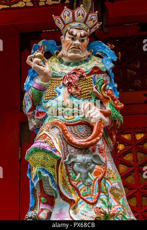 Sik Sik Yuen Wong Tai Sin Temple, Kowloon, Hong Kong, Chine. Banque D'Images
