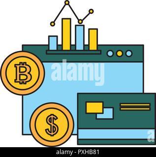 Business tech fin Banque D'Images