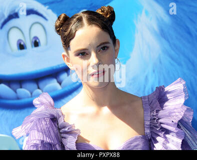 "Los Angeles premiere de ""mallfoot» - Arrivées comprend : CYN Où : Los Angeles, California, United States Quand : 22 Sep 2018 Credit : Adriana Barraza M./WENN.com Banque D'Images"