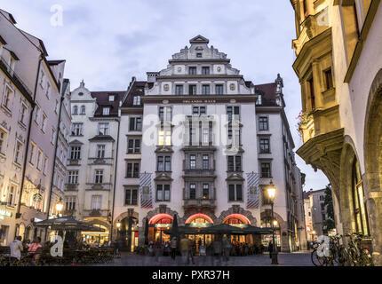 Orlando-Haus am Platzl à Munich Banque D'Images