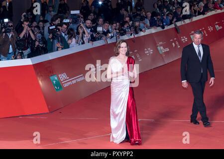 Rome, Italie. 24 octobre, 2018. Sigourney Weaver sur le tapis lors de la 13ème Festival du Film de Rome à l'Auditorium Parco della Musica. Credit: Gennaro Leonardi/Alamy Live News Banque D'Images
