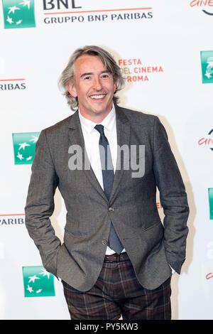Rome, Italie. 24 octobre 2018: Steve Coogan participant à la photocall de Stan & Ollie à Rome Film Fest 2018. Credit: Gennaro Leonardi/Alamy Live News Banque D'Images