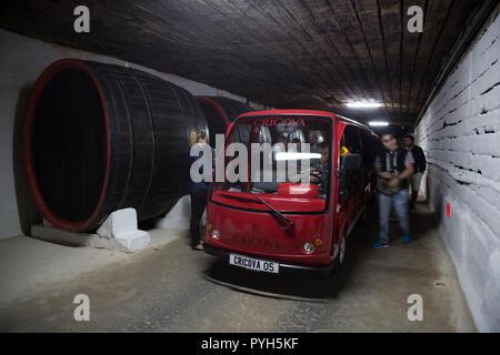 La République de Moldova, la Winery Cricova SA Banque D'Images