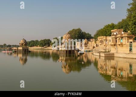 Gadisar Lake, Jaisalmer, Rajasthan, India