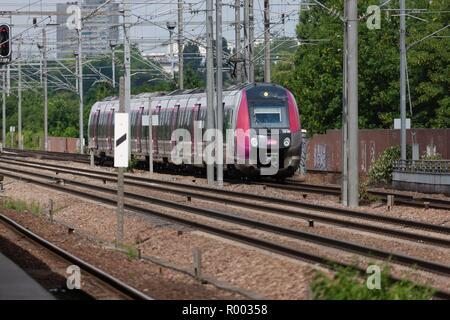 France, Ile de France, Seine et Marne, Chelles, Chelles Gournay gare