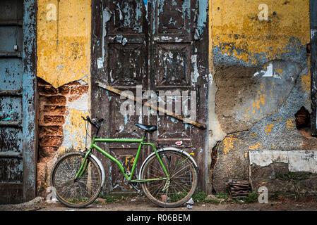 Scène de rue, fort Kochi (Cochin), Kerala, Inde, Asie Banque D'Images