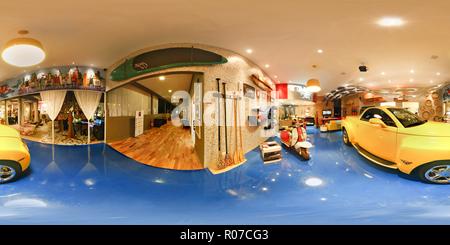 Routière Garagem 001 Banque D'Images