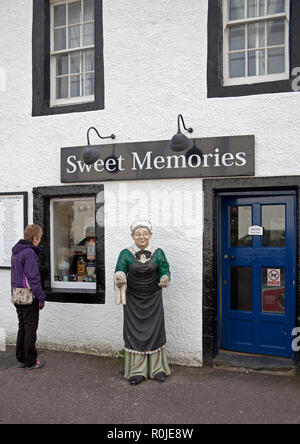 Sweet Sweet Memories confiserie, Inverary, Argyll and Bute, Ecosse, Royaume-Uni Banque D'Images