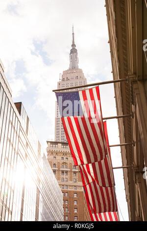 Empire State Building, W33ème Street, New York City, Etats-Unis d'Amérique.