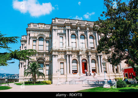 Palais Beylerbeyi monument historique à Istanbul, Turquie Banque D'Images
