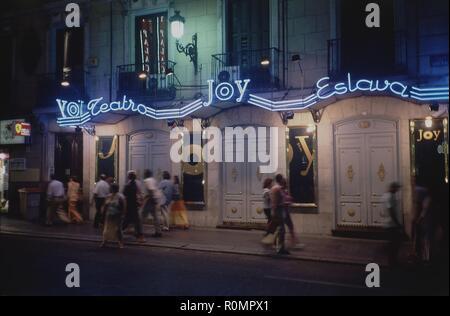 FACHADA DEL TEATRO JOY ESLAVA. Emplacement: JOY ESLAVA. L'ESPAGNE. Banque D'Images