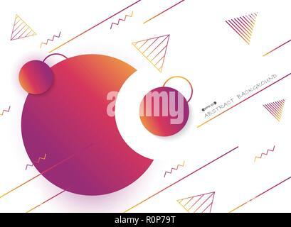 Résumé de l'arrière-plan géométrique couleur liquide, vector eps10 Banque D'Images